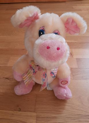 """Мягкая игрушка """"Поющая свинка"""""""
