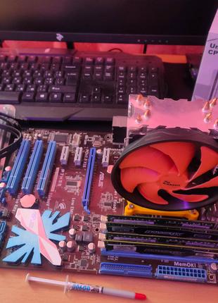 Комплект P7H55 + x8 Xeon X3460 + 16GB DDR3 1800MHz