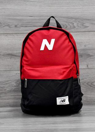 Рюкзак NEW BALANCE Красный с черным