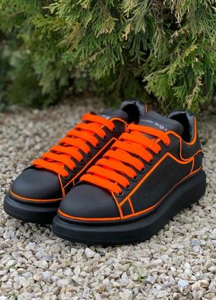 Alexander McQueen Black/Orange