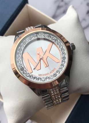 Часы женские silver-rose gold