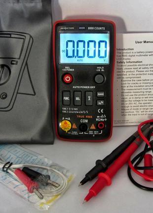 Мультиметр RICHMETERS RM408B True-RMS 8000 отсчетов ОРИГИНАЛ!