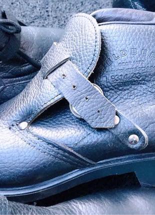 Спецобувь обувь с железным металлическим носком - 43р