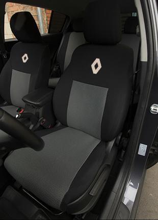 Авточехлы на сиденья Renault Logan