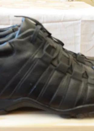 Мужские зимние кожаные утепленные ботинки 45 разм.