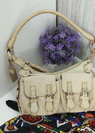 Трендовая сумка Saddler, натуральная кожа