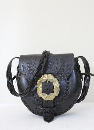 D.l. дизайнерская кожаная сумка ручной работы.