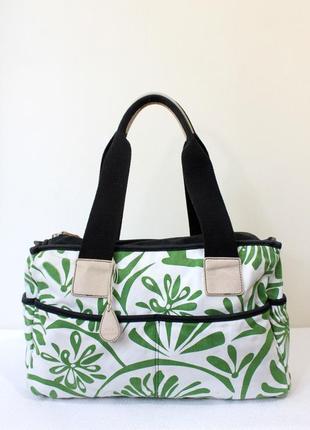 Дорожная сумка tula текстиль + кожа