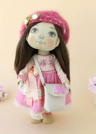 Кукла текстильная игровая ручной работы. Игрушки. Подарок девочке