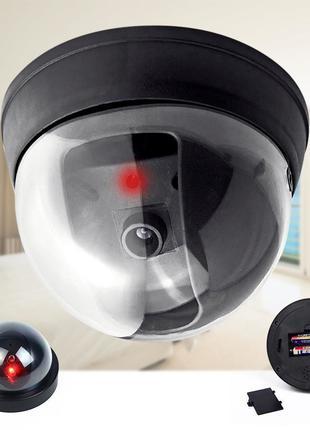 Муляж камеры видеонаблюдения,внутренняя купольная Видео камера,об