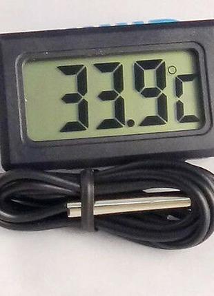 Термометр цифровой высокоточный с выносным датчиком темп. (Градус