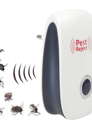 Отпугиватель грызунов и насекомых Pest Reject 3 в 1, ультразвуков