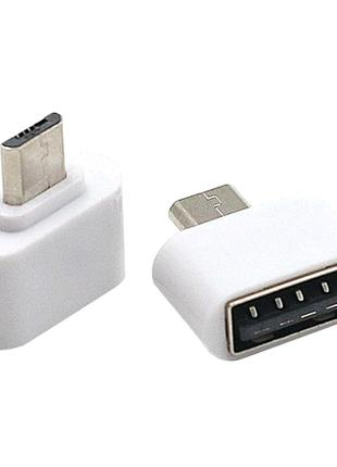 USB переходник otg micro-usb адаптер кабель шнур отг MicroUSB - U