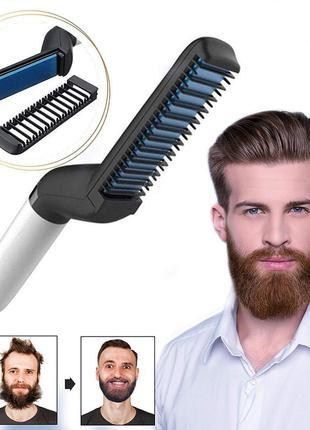 Мужской стайлер плойка для укладки выравнивания волос и бороды вы