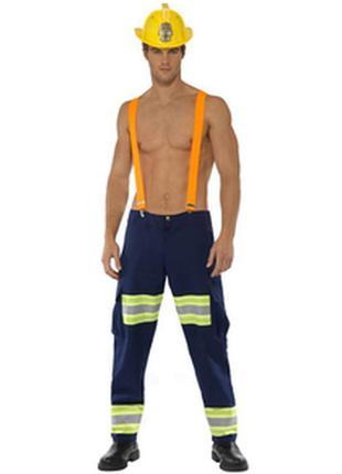 Косплей фотосессия реквизит костюм пожарного fever london