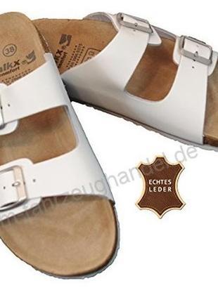 Кожаные женские сабо walkx comfort