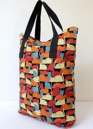 Текстильная сумка - шоппер
