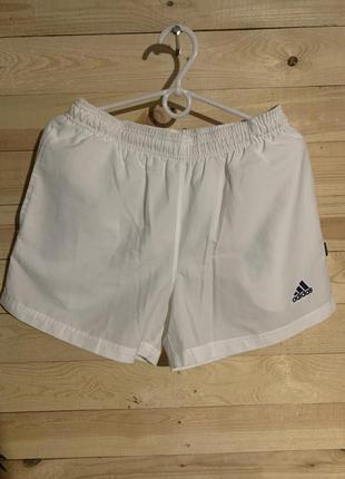 Adidas шорти шорты винтажние белие