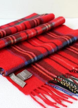 Codello . кашемировый шарф в клетку