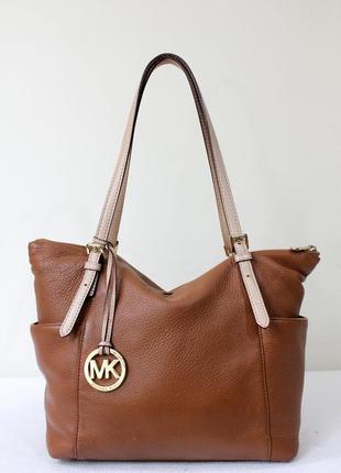 Кожаная сумка  michael kors оригинал,номерная.