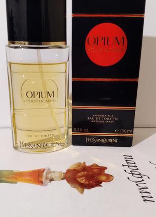 "Ysl  opium ""pour homme""-edt 100ml"