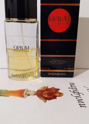 "Ysl ""opium pour homme""-edt 100ml"