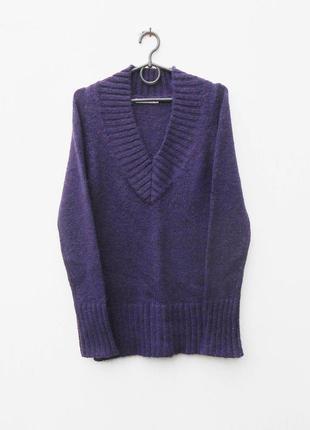 Теплый мягкий вязаный 12% мохеровый осенний зимний свитер пуло...