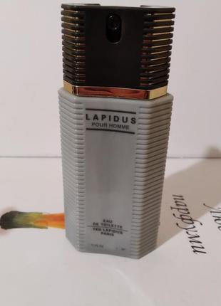"Ted lapidus ""pour homme""-edt 100ml tester vintage"