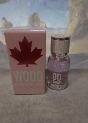 Dsquared2 wood pour femme туалетная вода,30мл