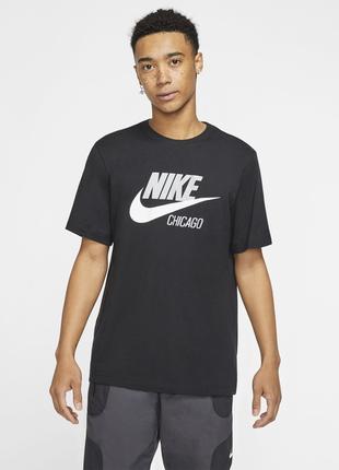 Футболка nike sportswear chicago t-shirt cw0849-010