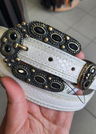 Женский кожаный ремень prima moda exclusive