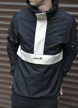 Ветровка мужская adidas анорак куртка мужская