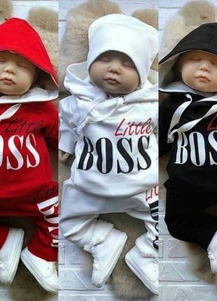 Костюм для малышей маленький босс