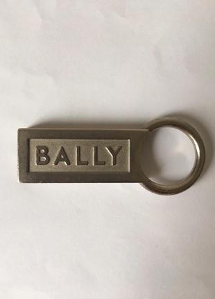 Металлический брелок bally оригинал