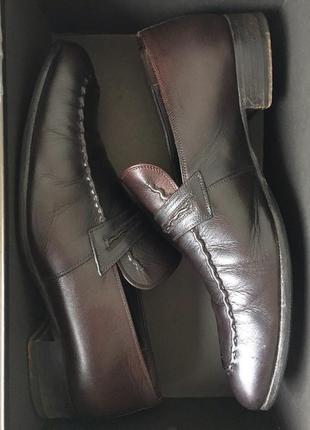 Мужские туфли лоферы gucci man оригинал 100%