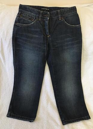 Dolce & gabbana  укороченные джинсы оригинал 100%