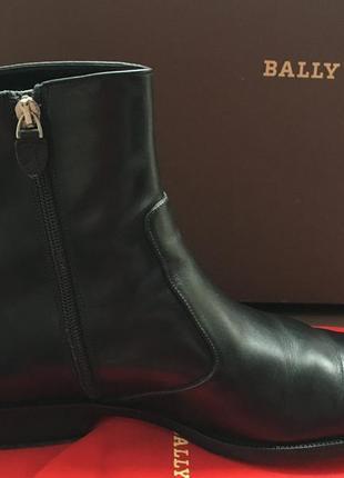 Ботинки   мужские   кожаные зимние  bally