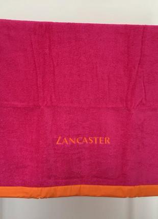 Полотенце пляжное lancaster новое в упаковке