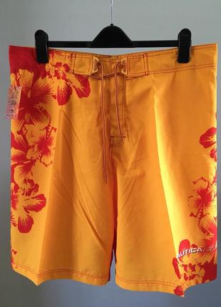 Мужские пляжные шорты nautica  новые !