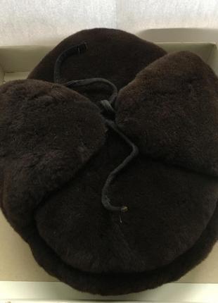 Норковая мужская шапка. новая. tukafurlux.