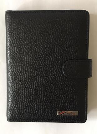 Визитница luciano  с карманами для визиток из натуральной кожи