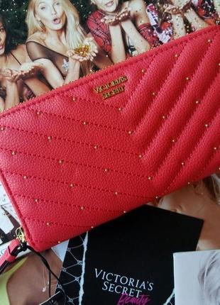 Красный кошелек от victoria's secret victorias secret виктория...