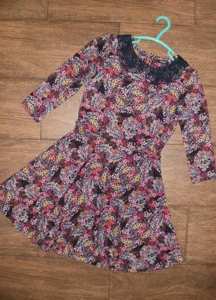 Платье теплое на 10-11 лет