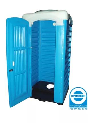 Туалет-кабина для выгребных ям - ТМ «Укрхiмпласт»