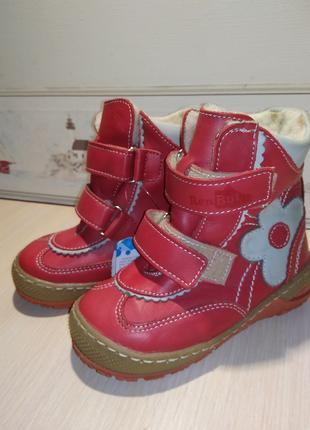 """Зимові черевички для дівчинки 24роз. """"Renbut""""."""