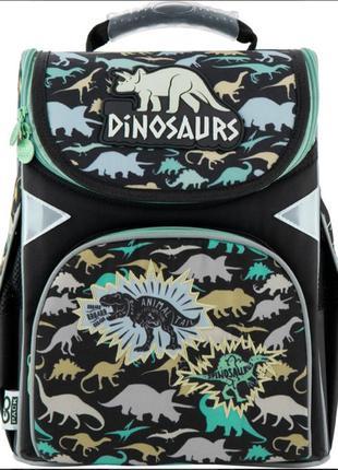 Рюкзак школьный каркасный gopack education dinosaurs