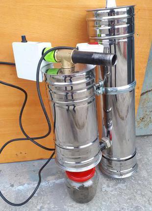 Дымогенератор для холодного и горячего копчения.