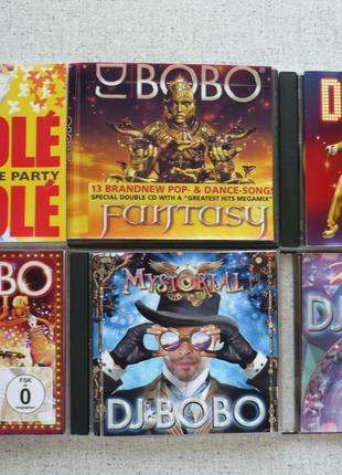 CD DJ BoBo-Fantasy/Dancing Las Vegas/Circus/Mystorial/KaleidoLuna