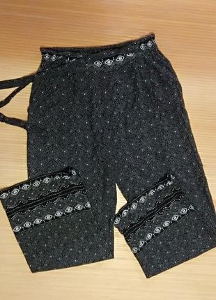 Легкие брюки primark, размер 46-48