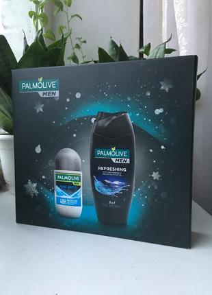 Palmolive набор для мужчин в подарочной коробке упаковке  на п...